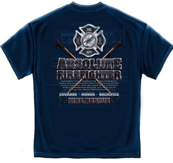Firefighter T Shirt 21