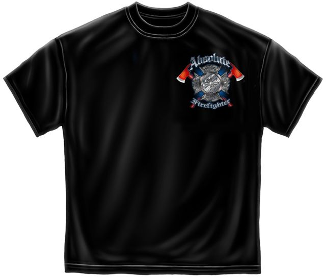 fire fighter t shirts