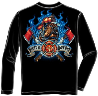 long sleeve firefighter t shirts
