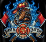 women firefighter t shirts