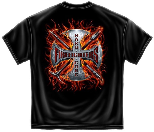 firefighter t shirt