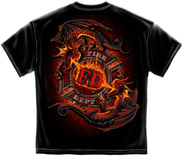 fire department  t shirts