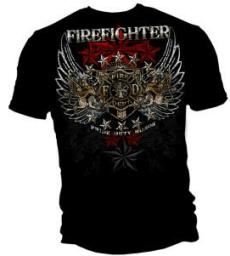 Firefighter T Shirt 24