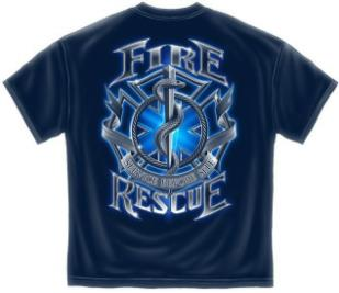 fire rescue t shirts