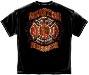 volunteer firefighter t shirts